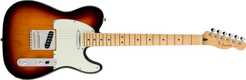 guitarra fender player telecaster