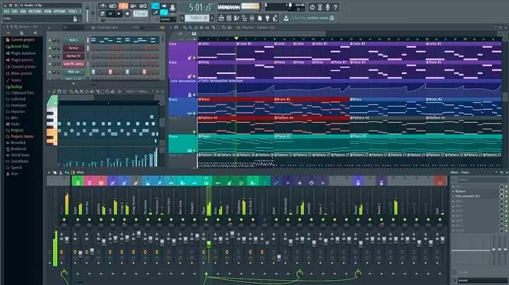 fl studio edicion audio