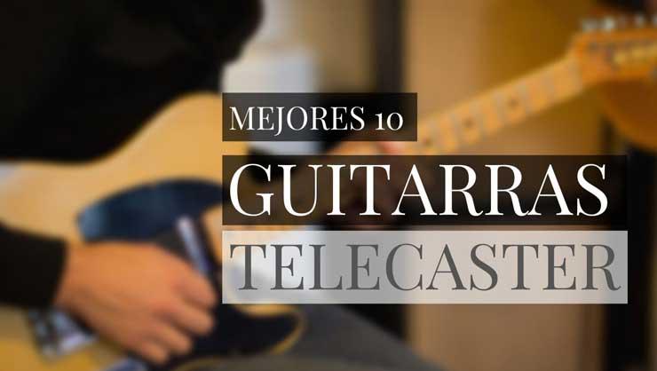 mejores guitarras telecaster