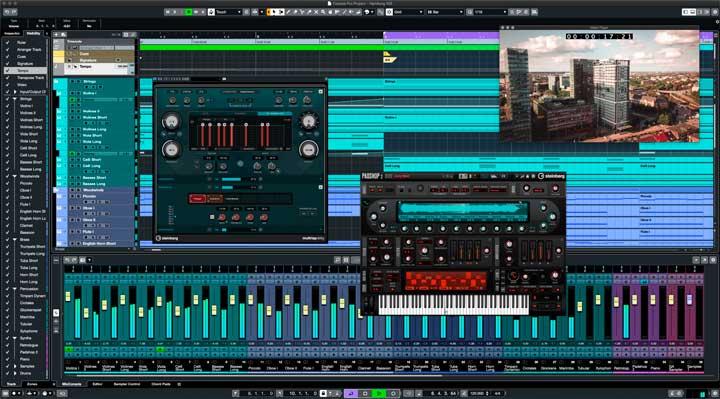 programas edicion audio cubase