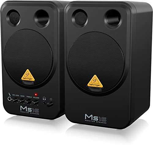 behringer ms16 monitores de estudio baratos