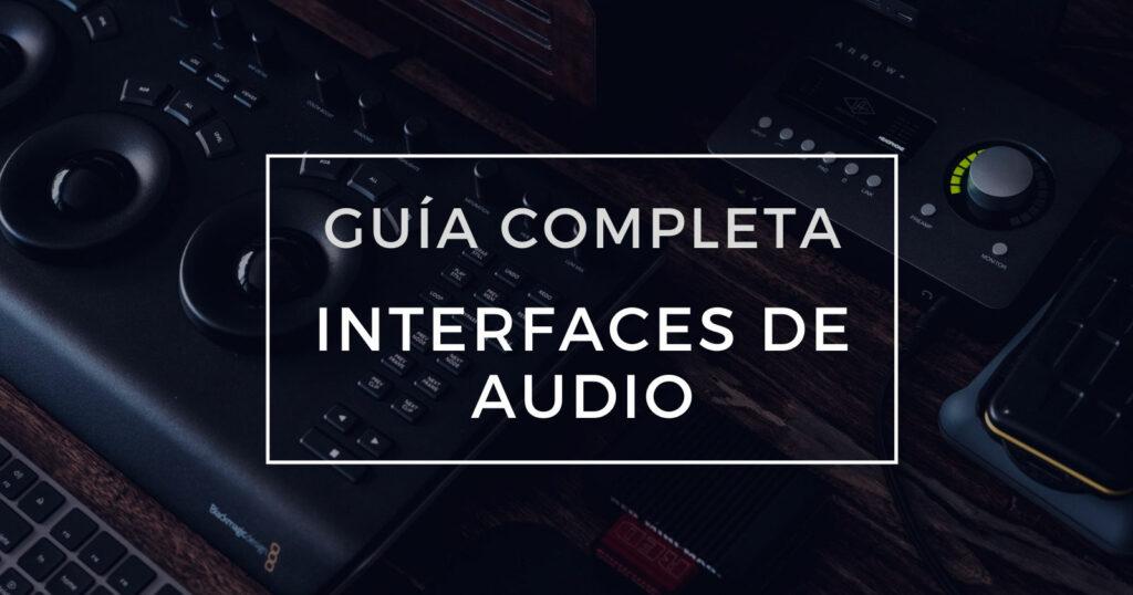 guia interfaces de audio