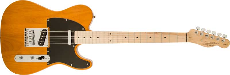 squier affinity telecaster butter