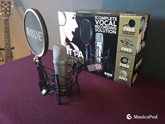 microfono rode nt1a