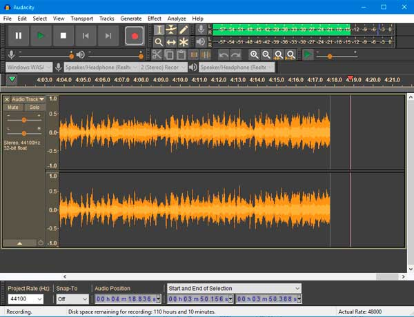 audacity editores de audio gratuitos