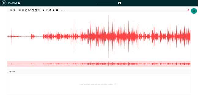 hya wave editor de audio online