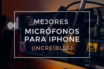 mejores micrófonos para iphone