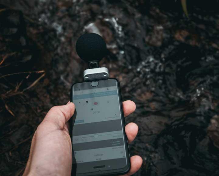 micrófonos para celulares