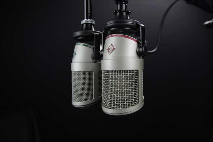 micrófonos para podcast