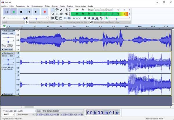 música para podcast