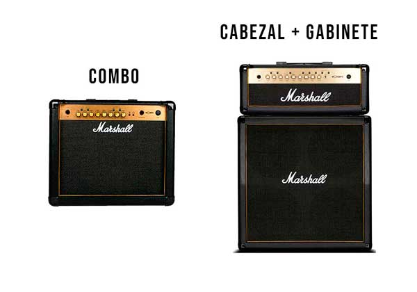 amplificadores de guitarra combo vs cabezal