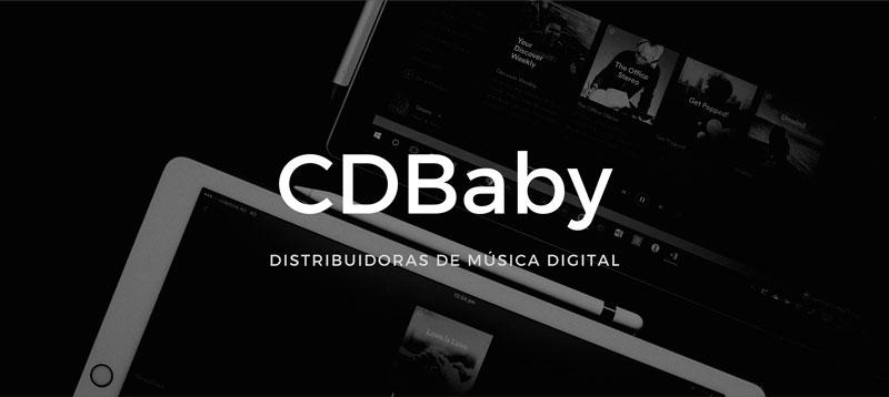 cdbaby distribuidora de musica digital