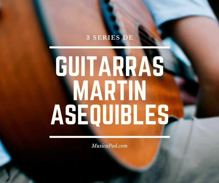 guitarras martin
