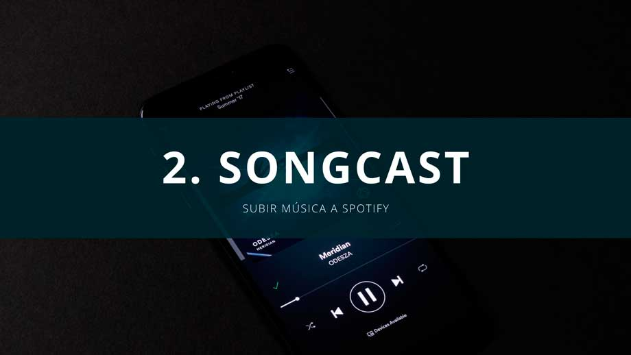 songcast distribución de musica