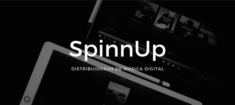 spinnup distribucion musica