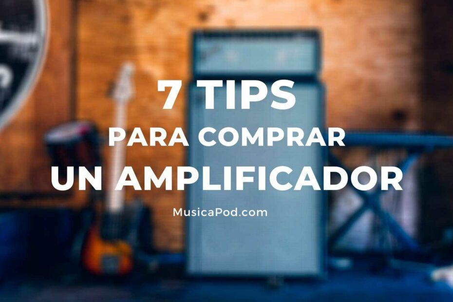tips comprar un amplificador de guitarra