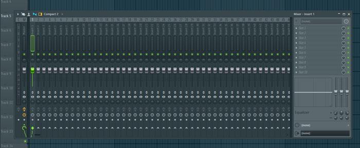 mixer en fl studio