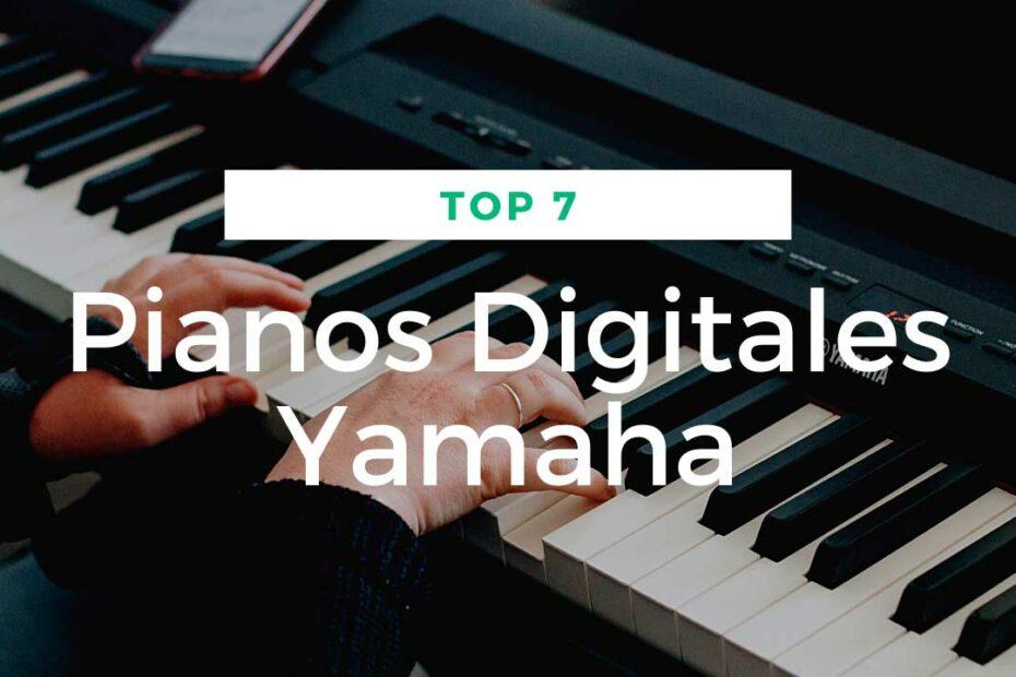 mejores pianos digitales yamaha
