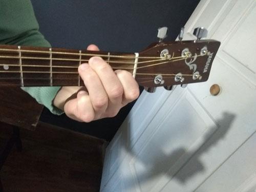 mi mayor en guitarra
