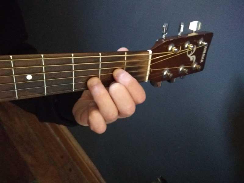 re mayor en guitarra