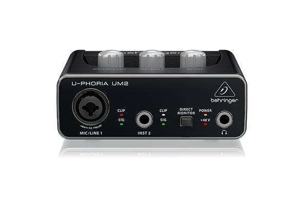 behringer um2 mejor interfaz de audio barata