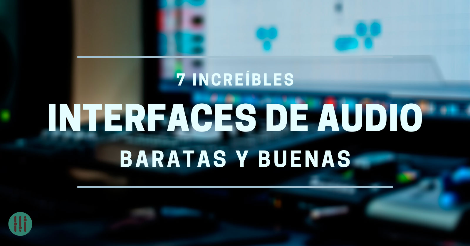interfaces de audio baratas