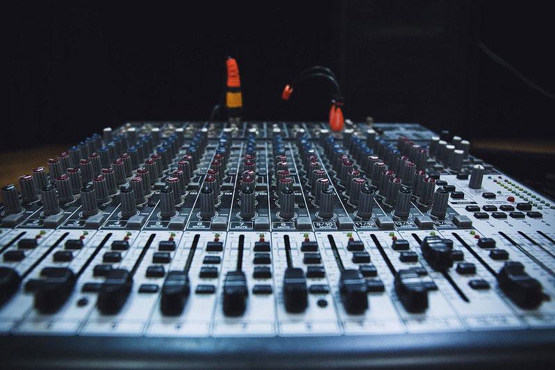 mezcladora de audio