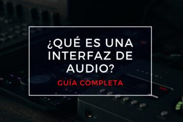 qué es una interfaz de audio