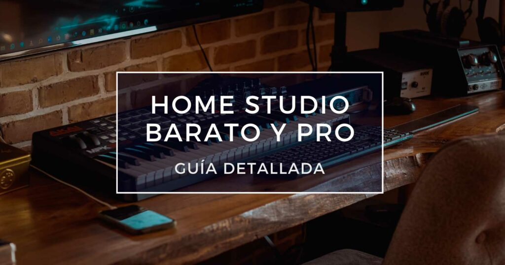 home studio barato y pro