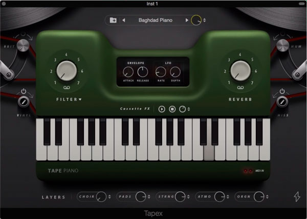 tape piano