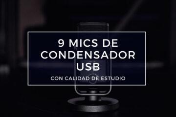 mejores micrófonos de condensador usb
