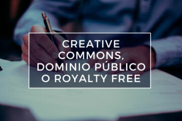 creative commons vs dominio público vs royalty free