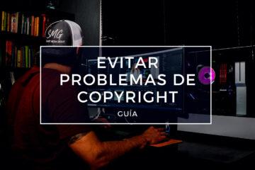 evitar problemas de copyright por música