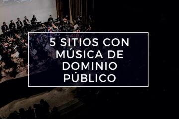 música de dominio público