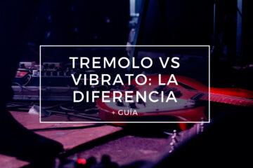 diferencia entre los pedales de trémolo y vibrato