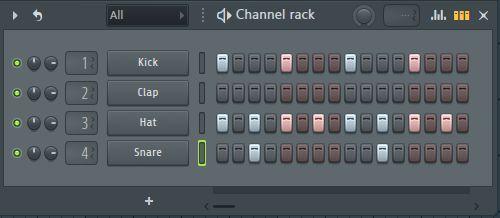 channel rack en fl studio 1