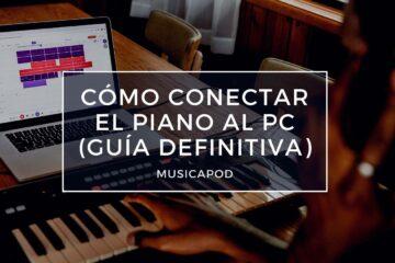 conectar el piano al pc