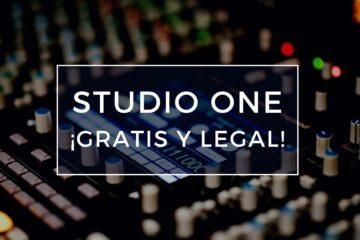 obtener el studio one gratis y legal