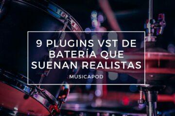 plugins vst de batería