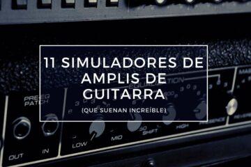simuladores de amplis de guitarra